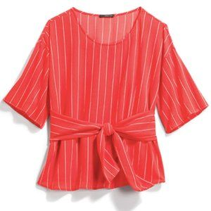 West Kei Tie Front Blouse